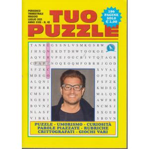 Tuo Puzzle - n. 43 - Enrico Papi - trimestrale - maggio - luglio  - 196 pagine