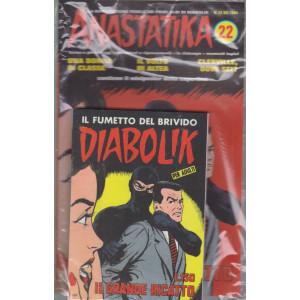 Diabolik + Anastatika - n. 22  del 1964 -Il grande ricatto - settimanale -