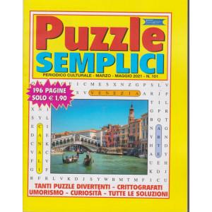Puzzle semplici - n. 101 - marzo - maggio 2021 - 196 pagine