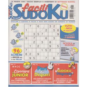 Settimana sudoku facili - n. 11 - mensile - 3/4/2021