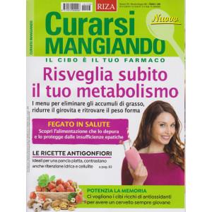 Curarsi Mangiando - n. 153-Risveglia subito il tuo metabolismo-  mensile -maggio  2021