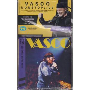 Grandi Raccolte Musicali n. 14  -Vasco nonstoplive - Gli spari sopra tour - quattordicesima uscita  -doppio cd - settembre 2021 -