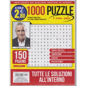 1000 Puzzle e non solo - n. 18 - trimestrale -aprile/maggio/giugno 2021 - 150 pagine