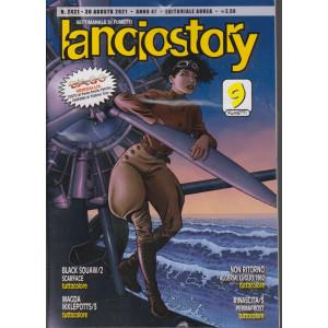 Lanciostory - n. 2421 - 30  agosto 2021 - settimanale di fumetti