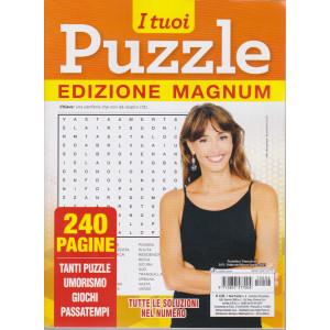 I tuoi puzzle - edizione magnum - n. 6 - trimestrale - febbraio/marzo/aprile 2021 - 240 pagine