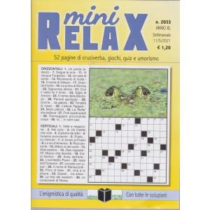 Mini Relax - n. 2033- settimanale -11/5/2021