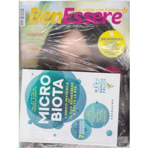 Benessere +il volume Microbiota - n. 3 -marzo 2021- mensile -rivista + libro