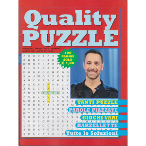 Quality Puzzle - n. 54 - trimestrale -gennaio - marzo 2021 - 100 pagine