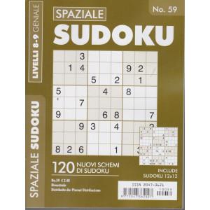 Spaziale Sudoku - n. 59 - livelli 8-9 geniale - bimestrale