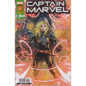 Captain Marvel - n. 23 -Strega suprema? -  mensile -26 agosto  2021