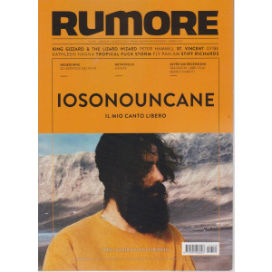 Rumore -   n. 352 - mensile - maggio  2021