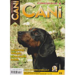 Cinghiale & Cani - n. 72 -20 luglio  2021 - bimestrale