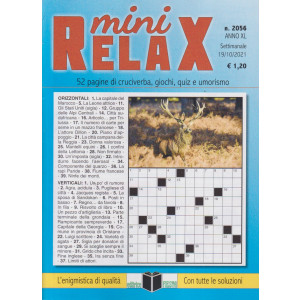 Mini Relax - n. 2056 - settimanale - 19/10/2021