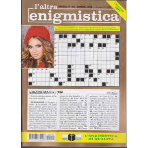 L'altra enigmistica - n. 495 - gennaio 2021 - mensile