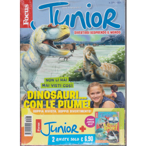 Focus Junior + Focus junior best  - n. 209/2021 - 2 riviste