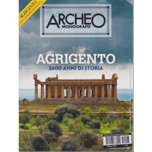 Archeo Monografie - n. 3 -Agrigento 2600 anni di storia - giugno 2021