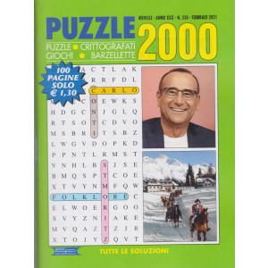 Puzzle 2000 - n. 358 - mensile -febbraio 2021 - 100 pagine