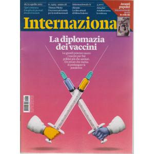 Internazionale - n. 1405 - 16/22aprile  2021 - settimanale