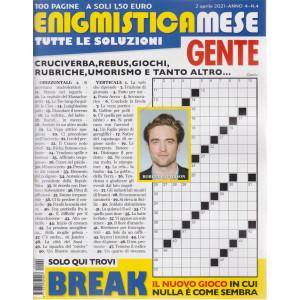 Enigmistica Mese Gente - n. 4- 2 aprile  2021 - mensile - 100 pagine