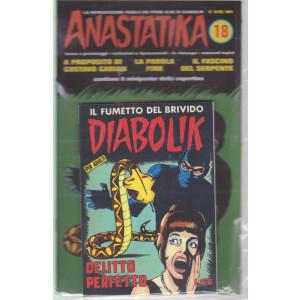 Diabolik + Anastatika - n. 18  del 1964 -Delitto perfetto!- settimanale -