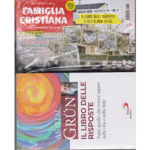 Famiglia Cristiana + il libro di Anselm Grun -Il libro delle risposte-   n. 8- settimanale -21 febbraio 2021    - rivista + libro