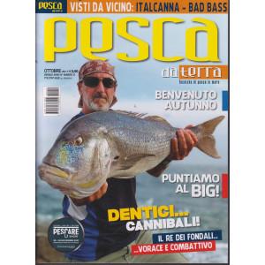 Pesca da terra - n. 10 - mensile - ottobre  2021