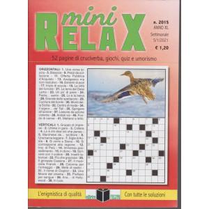 Mini Relax - n. 2015- settimanale - 5/1/2021