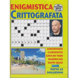 Enigmistica Crittografata - n. 252 - bimestrale - agosto - settembre   2021 - 68 pagine