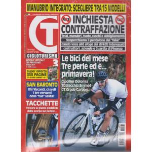 Cicloturismo - n. 3 - mensile - marzo 2021 + CT Super carnet - 2 riviste
