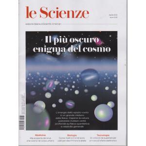 Le Scienze -Il più oscuro enigma del cosmo -  n. 632 -aprile  2021 - mensile
