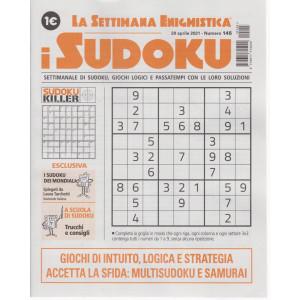 La settimana enigmistica - i sudoku - n. 145 - 29  aprile    2021 - settimanale