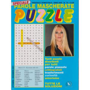 Speciale Parole Mascherate puzzle - n. 112 - trimestrale -ottobre - dicembre  2021