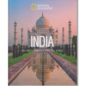 National Geographic - India - Dal Rajasthan alla foce del Gange-  n. 36 - 30/4/2021 - settimanale - copertina rigida