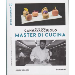 Master di Cucina - Antonino Cannavacciuolo - n. 30-   Meringhe e bignè - Dalle tipologie di meringa alla pasta choux  settimanale -