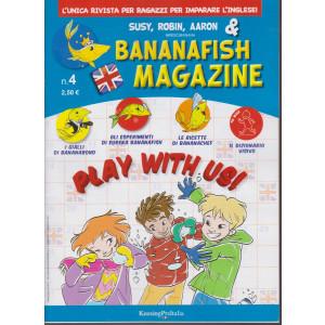 Bananafish magazine - n. 4 - 17 dicembre 2020 - trimestrale