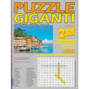 Puzzle Giganti - n. 444 - mensile - aprile  2021