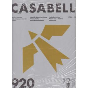 Casabella continuità - mensile n. 920 -  aprile 2021 - italiano - english