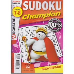 Sudoku Champion - livello 7-8 - n. 32 - gennaio - febbraio 2021 - bimestrale