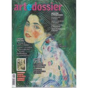 Art e dossier -n. 3856  -+ Dante e le arti -   mensile - aprile  2021- 2 riviste