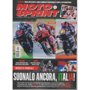 Motosprint - n. 17- settimanale - 27 aprile / 3 maggio  2021 -