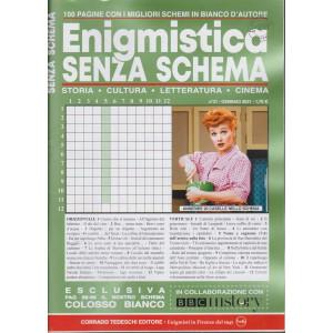 Enigmistica senza schema  - mensile -  n.31-  gennaio 2021