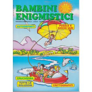 Bambini Enigmistici - n. 116 - bimestrale - luglio - agosto  2021 - 52 pagine tutte a colori
