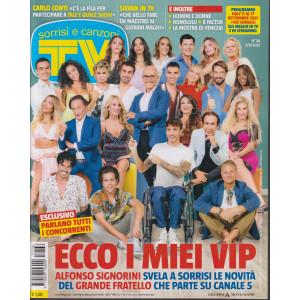 Sorrisi e Canzoni tv -n. 36 - settimanale  - 7/9/2021