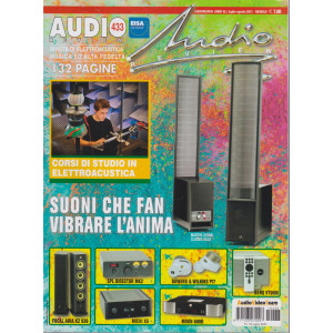 Audio review - n. 433- mensile - luglio - agosto 2021 - 132  pagine