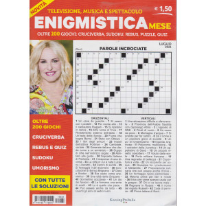 Enigmistica mese - n. 33 - luglio  2021 - mensile