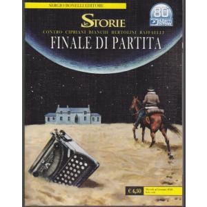 Le Storie -Finale di partita -  mensile -gennaio 2021