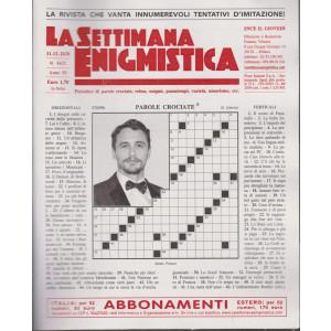 La Settimana Enigmistica - n. 4632 - 31/12/2020 - settimanale