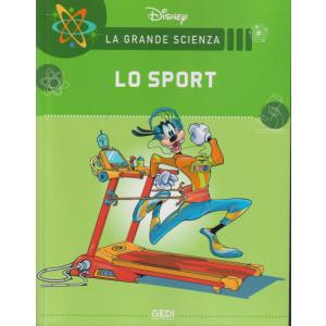 La grande scienza Disney -Lo sport   n. 23  settimanale -11/9/2021