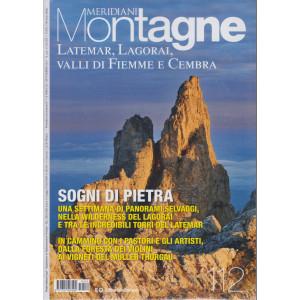 Meridiani Montagne -  Latemar, Lagorai, Valli di Fiemme e Cembra - n. 112 -settembre 2021 - bimestrale -