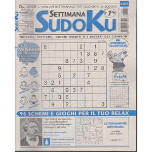 Settimana Sudoku - n. 810- settimanale -19 febbraio  2021